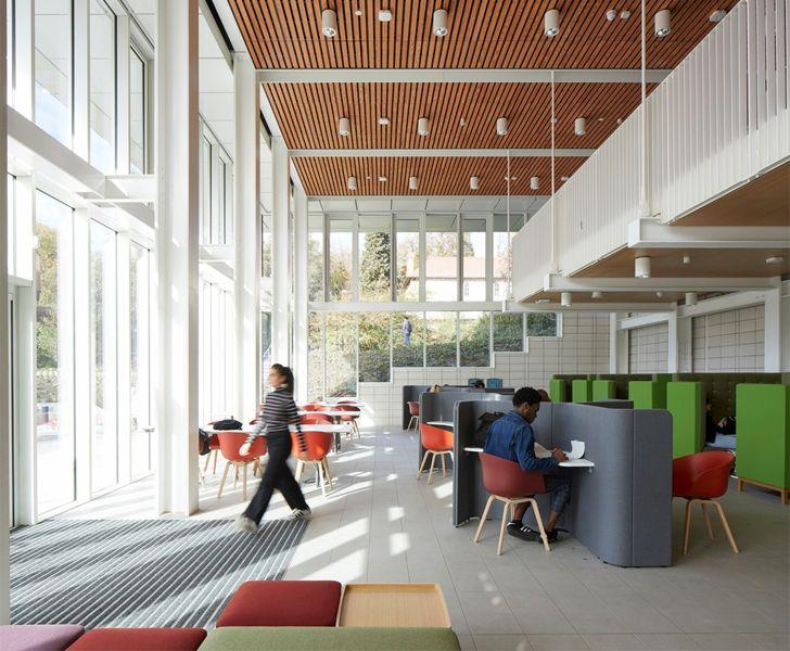 """learning hub mezzanine TLB nottingham university indiaartndesign"""