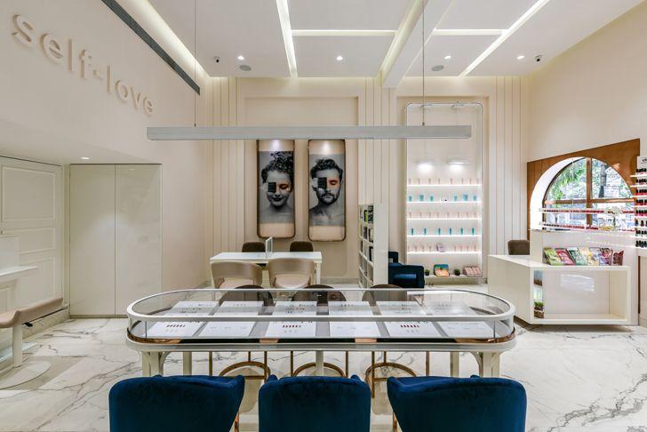 """counter sales the white door nail salon minnie bhatt designs indiaartndesign"""