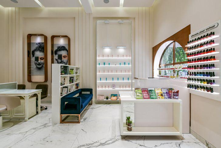 """nail art nook the white door nail salon minnie bhatt designs indiaartndesign"""