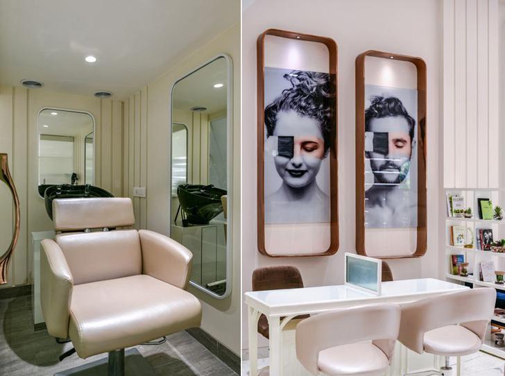 """salon chairs the white door nail salon minnie bhatt designs indiaartndesign"""