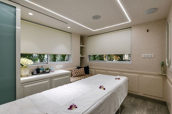 """spa the white door nail salon minnie bhatt designs indiaartndesign"""