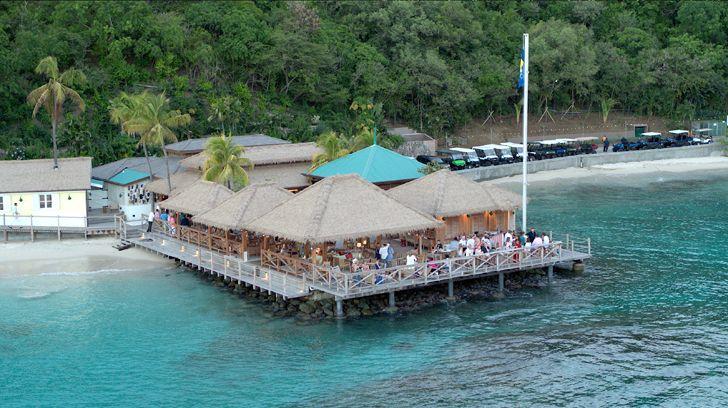 """aerial view Basils Bar Philippe Starck indiaartndesign"""
