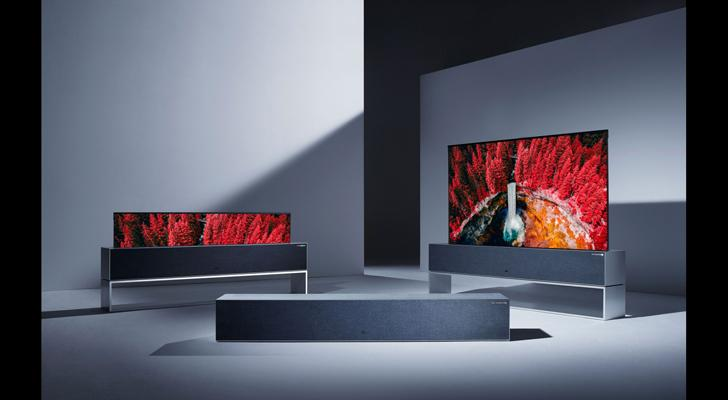"""LG OLED rollable TV indiaartndesign"""