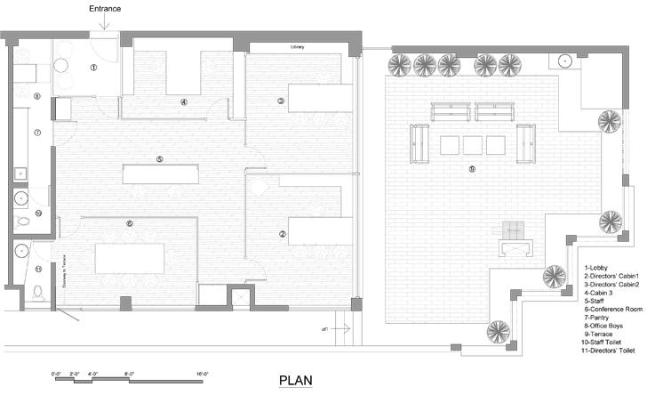 """plan mumbai office rajeev sathe architects indiaartndesign"""