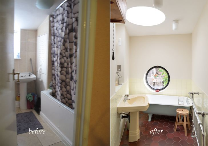 """bathroom before and after janus house office S&M indiaartndesign"""