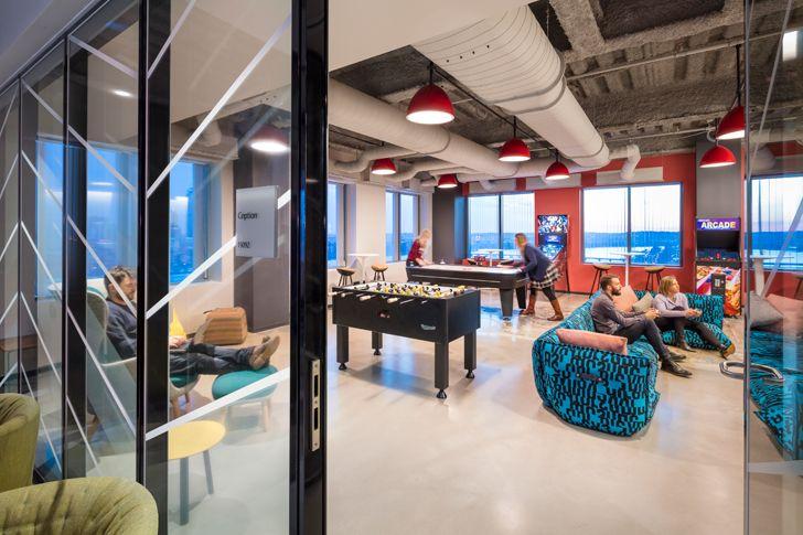 """recreation space3 Microsoft NERD centre cambridge sasaki indiaartndesign"""