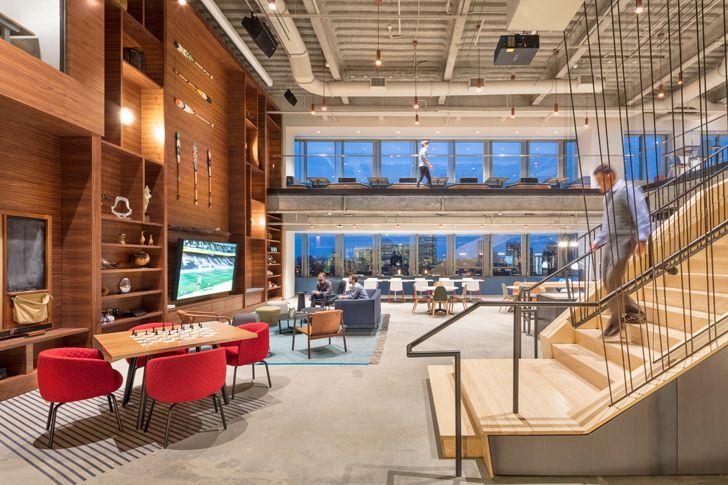 """social hub1 Microsoft NERD centre cambridge sasaki indiaartndesign"""