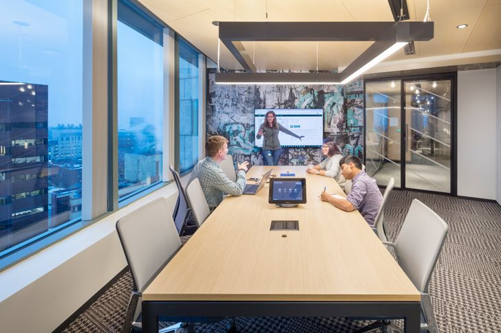 """work space3 Microsoft NERD centre cambridge sasaki indiaartndesign"""