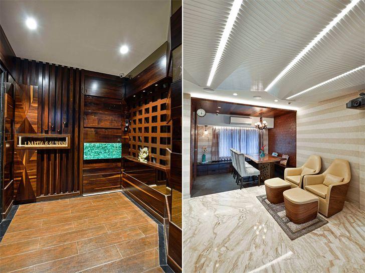 """entrance agarwal residence sunali goenka design indiaartndesign"""