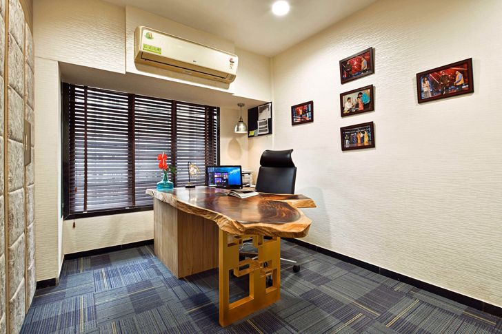 """home office agarwal residence sunali goenka design indiaartndesign"""