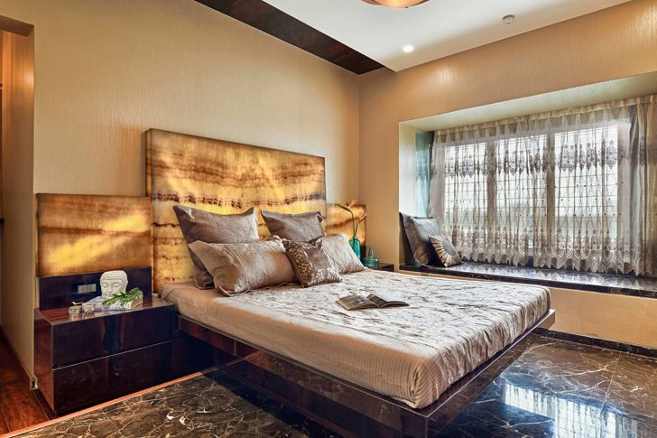 """master bedroom agarwal residence sunali goenka design indiaartndesign"""