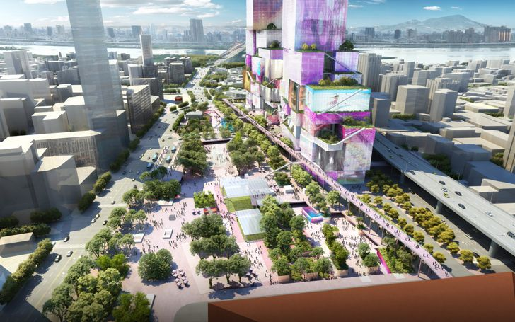 """main station area Taipei Twin Towers MVRDV indiaartndesign"""