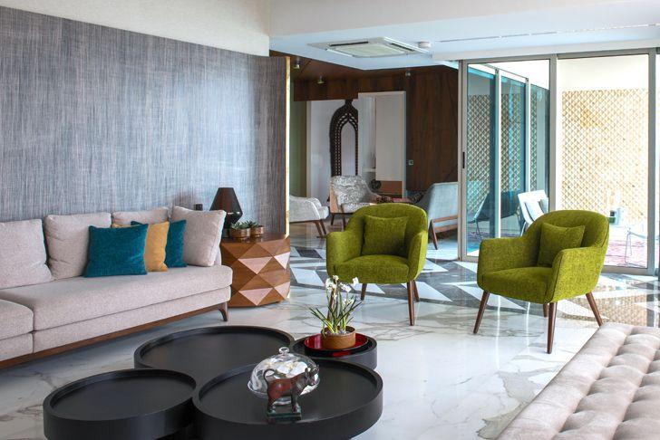 """formal living area mumbai residence zz architects indiaartndesign"""