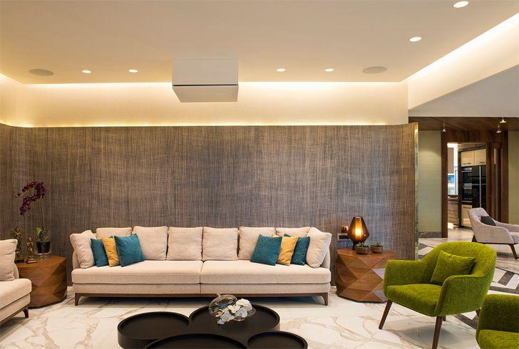 """formal living mumbai residence zz architects indiaartndesign"""