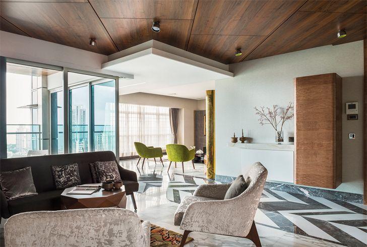 """informal lounge mumbai residence zz architects indiaartndesign"""