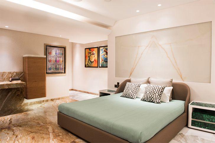 """master bedroom mumbai residence zz architects indiaartndesign"""