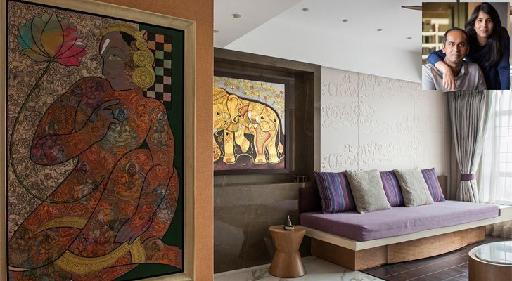 This contemporary Mumbai home is a collector's paradise!