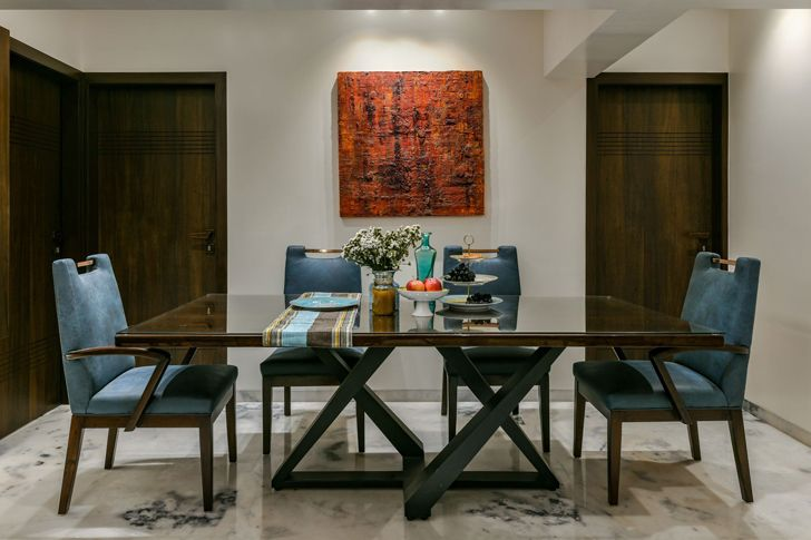 """dining mumbai residence AUM architects indiaartndesign"""