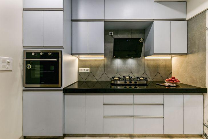 """""""geometric backsplash mumbai residence AUM architects indiaartndesign"""""""