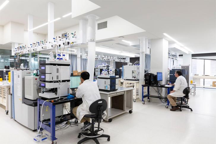 """laboratory Nancy Mills Building Australia Design Inc indiaartndesign"""