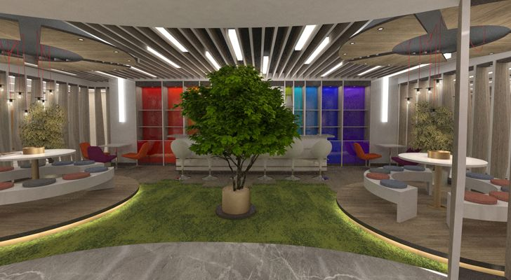 """IMAK Ofset Management Office EDDA Architecture indiaartndesign"""