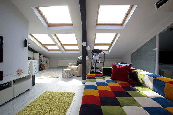 """by day attic loft project elips design architecture indiaartndesign"""