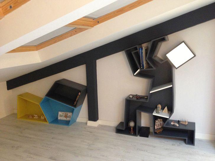"""fitness corner attic loft project elips design architecture indiaartndesign"""