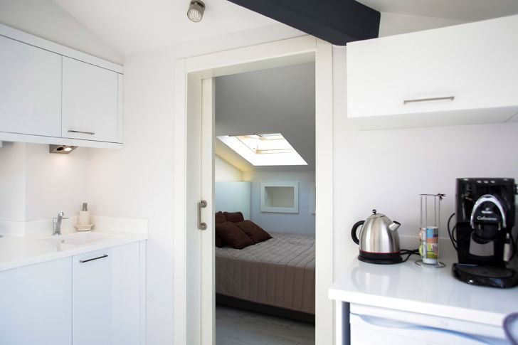 """kitchenette attic loft project elips design architecture indiaartndesign"""