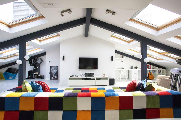 """skylights attic loft project elips design architecture indiaartndesign"""