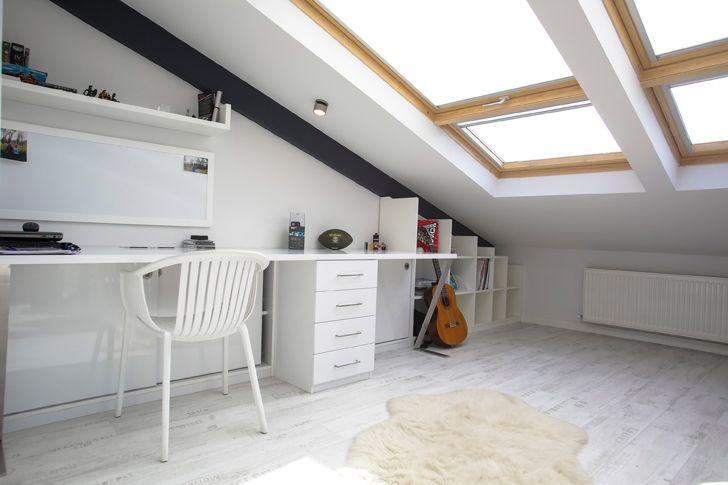 """study attic loft project elips design architecture indiaartndesign"""