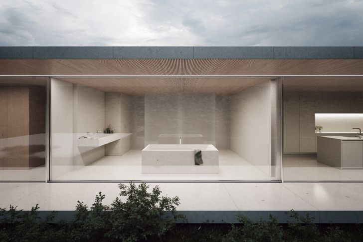 """glass walls luxury residence sotogrande fran silvestre architects indiaartndesign"""