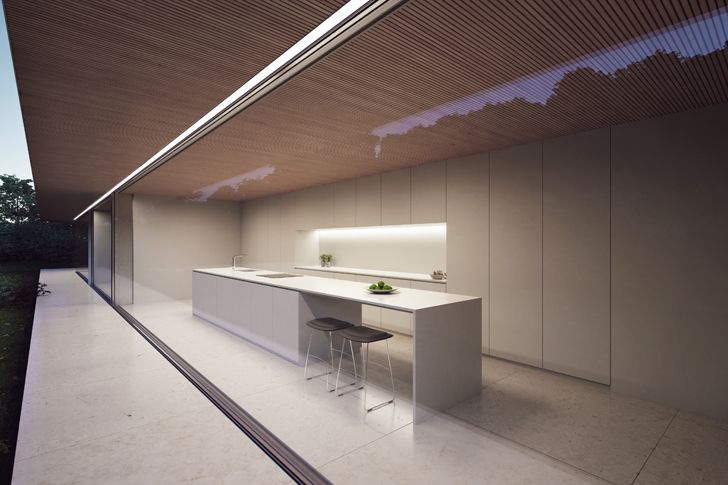 """kitchen luxury residence sotogrande fran silvestre architects indiaartndesign"""