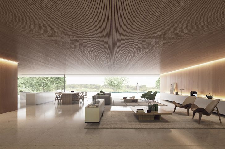 """living area luxury residence sotogrande fran silvestre architects indiaartndesign"""