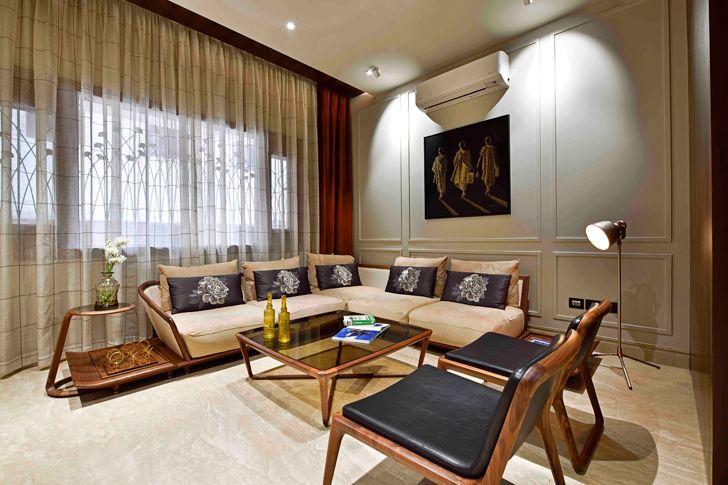 """family lounge chennai residence HS Desiigns indiaartndesign"""