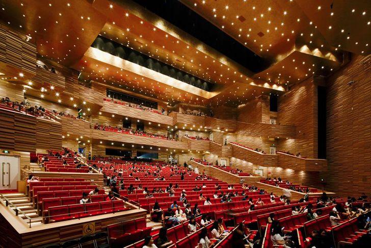 """multipurpose auditorium hangzhou opera henning larsen indiaartndesign"""