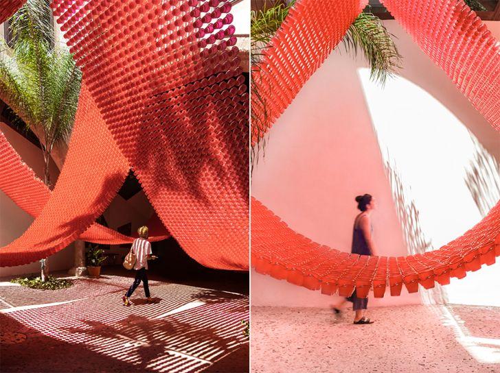"""experiencing the installation Insolit 2019 Manuel Bouzas and Santiago del Aguila indiaartndesign"""