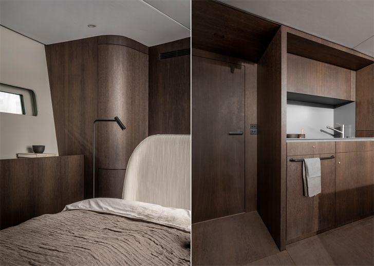 """cabin Bella Yachtbau Norm Architects indiaartndesign"""
