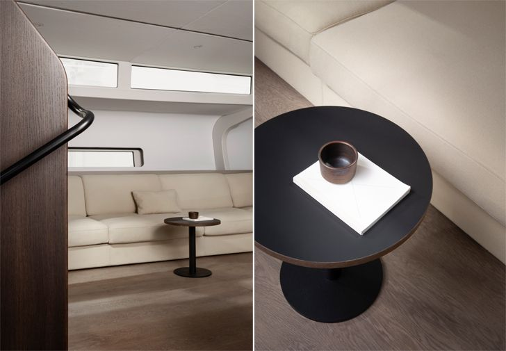 """""""cabin seating Bella Yachtbau Norm Architects indiaartndesign"""""""
