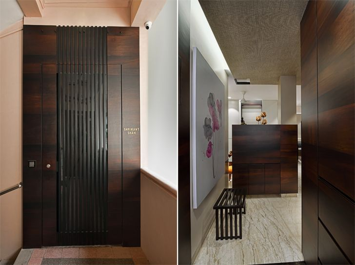 """entrance mumbai residence rajesh patel architects indiaartndesign"""