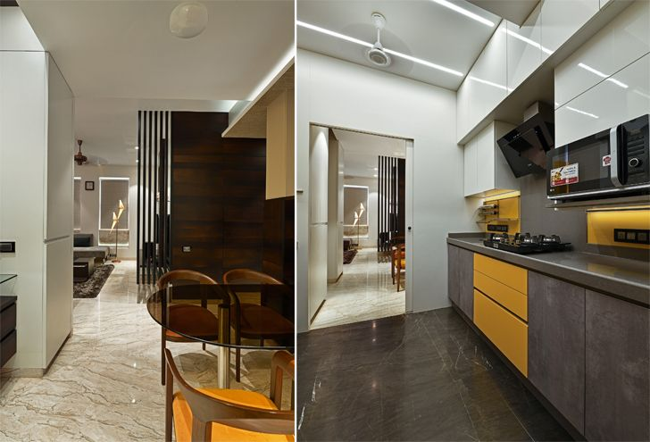 """kitchen mumbai residence rajesh patel architects indiaartndesign"""