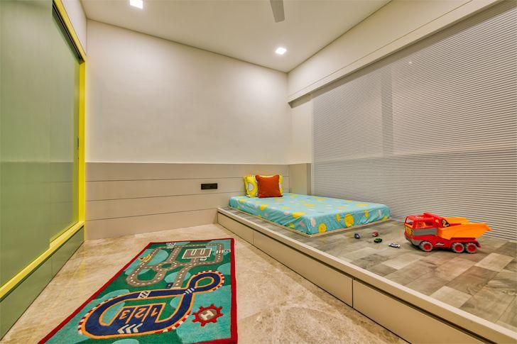 """""""children bedroom Ahmedabad home shalin gandhi design studio indiaartndesign"""""""