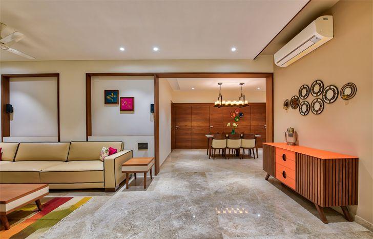 """expansive living Ahmedabad home shalin gandhi design studio indiaartndesign"""