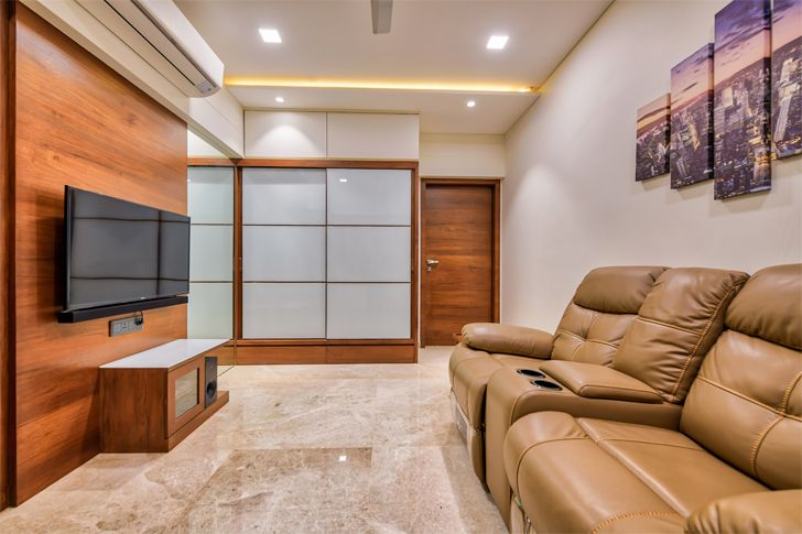 """guest room Ahmedabad home shalin gandhi design studio indiaartndesign"""