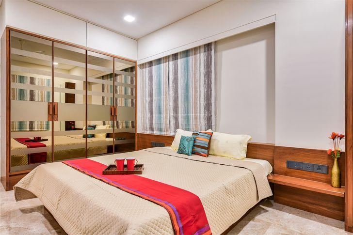 """mirror panelling Ahmedabad home shalin gandhi design studio indiaartndesign"""