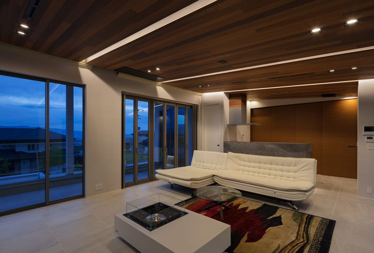 """""""living room N12 House Show Architects indiaartndesign"""""""