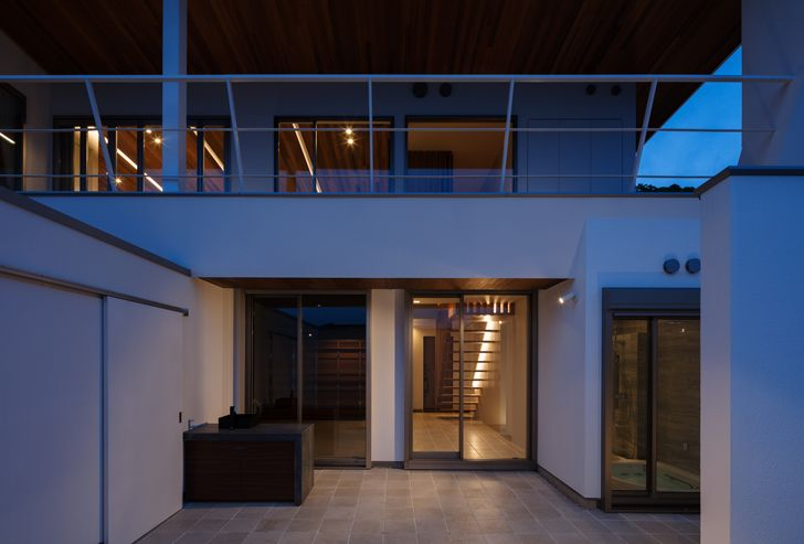 """""""spacious interiors N12 House Show Architects indiaartndesign"""""""