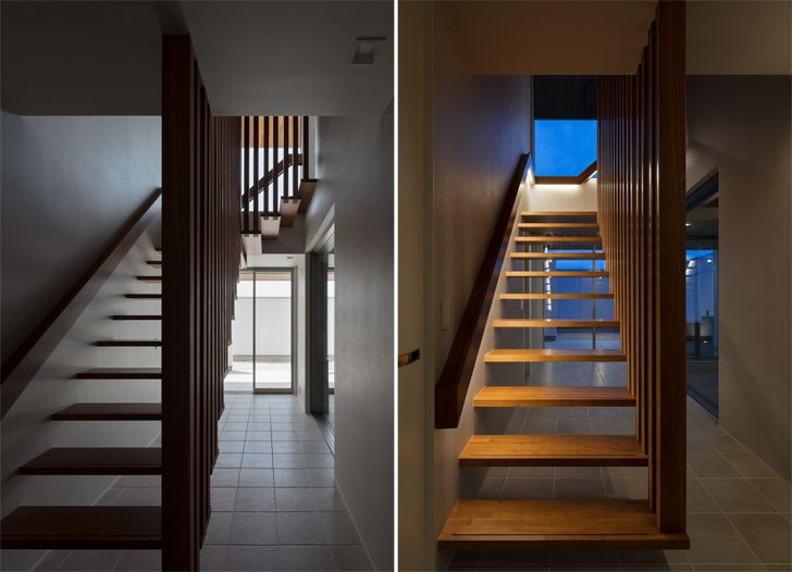 """""""staircase N12 House Show Architects indiaartndesign"""""""