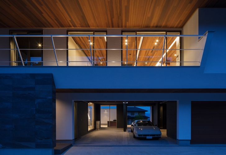 """""""wooden ceiling N12 House Show Architects indiaartndesign"""""""