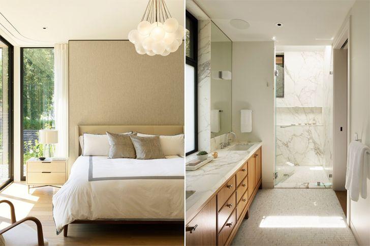 """""""master bedroom suite Palo Alto home Studio Vara indiaartndesign"""""""
