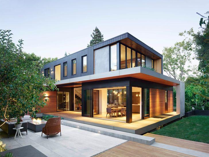 """seamless inside outside Palo Alto home Studio Vara indiaartndesign"""